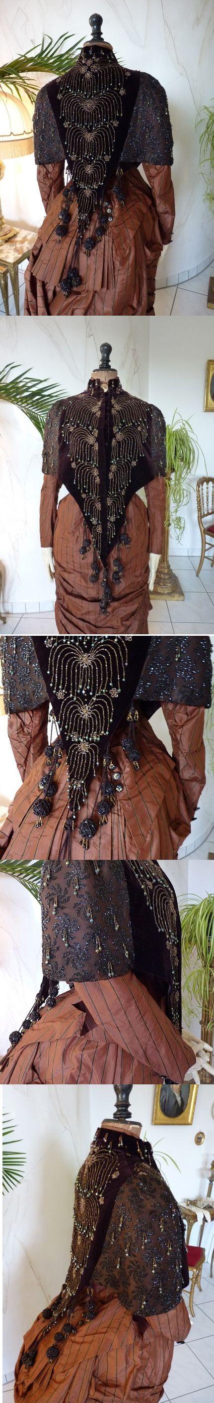 MARGAINE Shoulder Cape, Antique Dress, Antique Gown, Victorian Dress, Antique Cape, Paris, ca. 1885