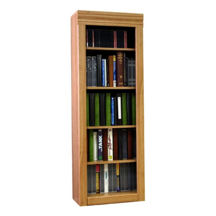 Rush Furniture Charles Harris 48 in. Media Storage Tower - 03180, VRUS010
