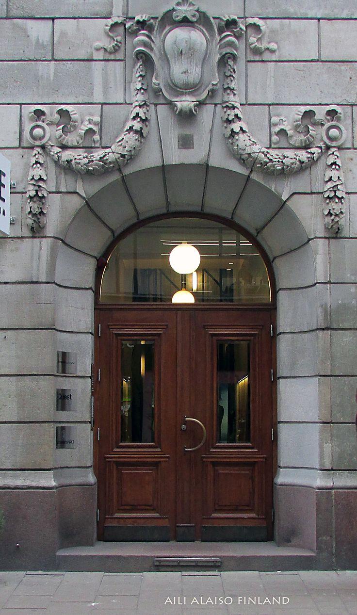 Door in somewhere Stockholm, Swerige