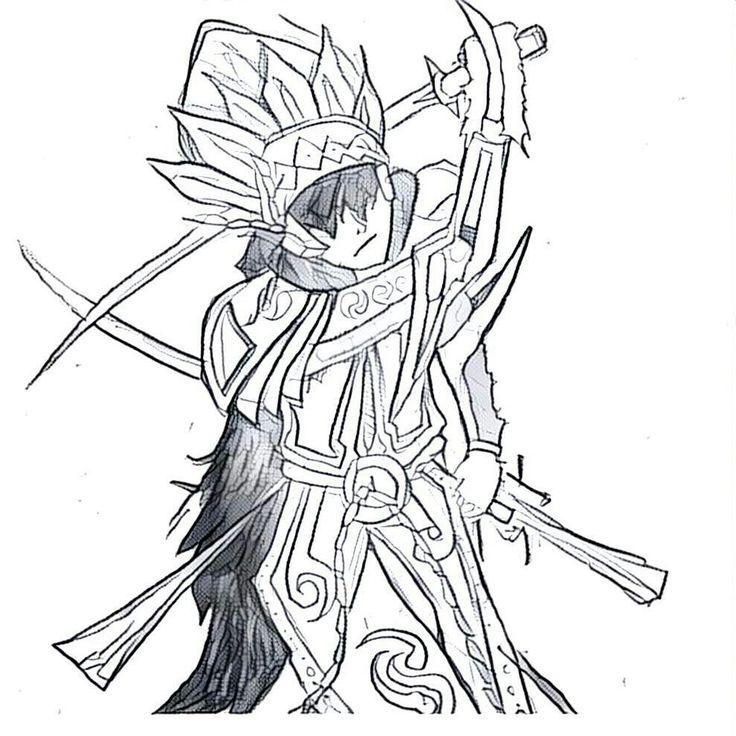 #anime #komik #original #pose #skestsa