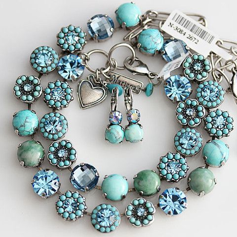 Mariana Jewelry Spirit of Design - Bliss Turquoise Blue. Available at www.regencies.com