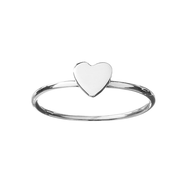 Affinity Ring - Sterling Silver - Pinch & Fold