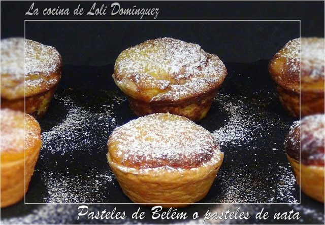 La cocina de Loli Domínguez: Pasteles de Belém o Pasteles de nata