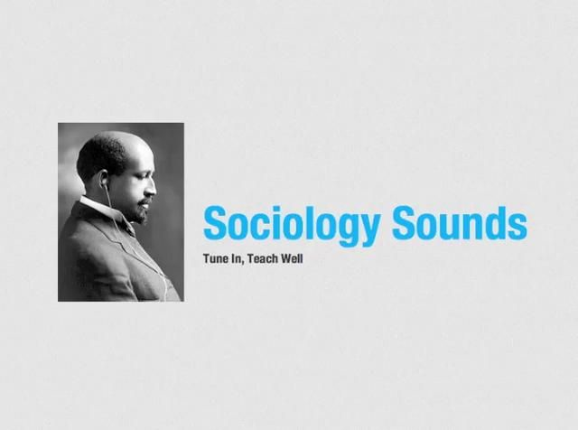 SociologySounds by Nathan Palmer. SociologySounds.com is the easiest way to find great music for your sociology or social science classes.