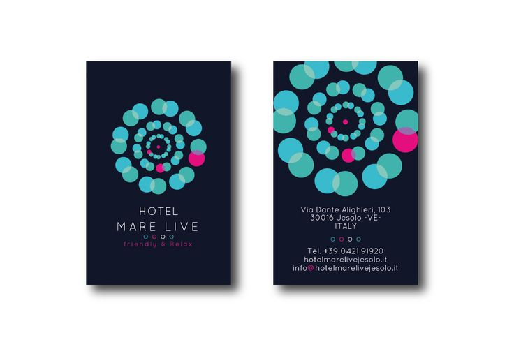 Business Card B&B Mare Live
