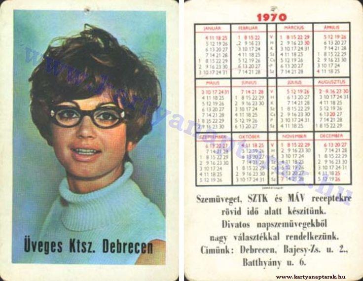 1970 - 1970_0450 - Régi magyar kártyanaptárak