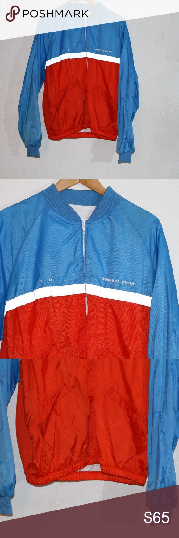 vintage 1980s dominos pizza jacket vintage 1980s dominos pizza jacket dominos Jackets & Coats
