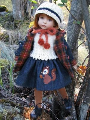 """A Walk in The Woods by Tuula Fits Dianna Effner 13"""" Little Darling to A """"T"""" 