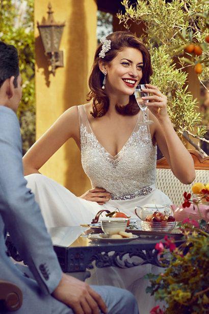 BHLDN Spire Earrings in  Bride Bridal Jewelry at BHLDN