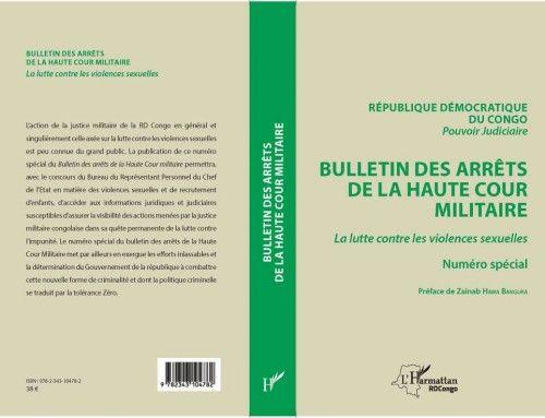 20170711 Vernissage Bulletin des Arrêts de la Haute Cour Militaire sur les violences faites aux femmes