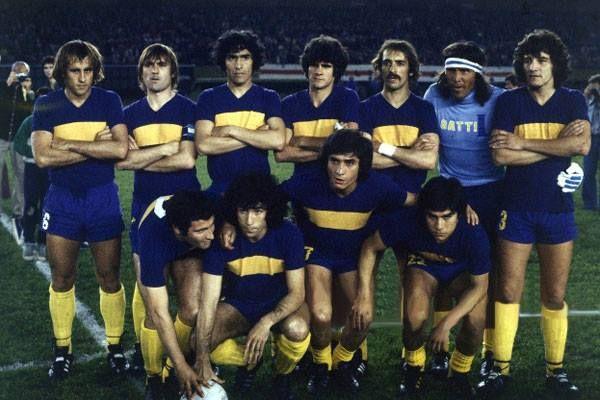 BOCA JUNIORS - Campeón intercontinental 1978