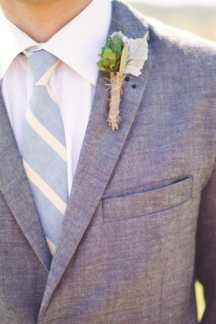 snazzy in Blue  Photography By http://kateharrisonphotography.com: Simple Boutonnieres, Grooms Style, Wedding Plans, Grooms Suits, Grey Suits, Floral Design, Men Suits, Grooms Boutonnieres, Linens Suits