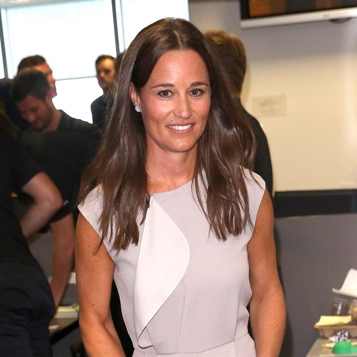Pippa Middleton has got a new 'do!