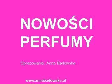 Nowości – perfumy damskie