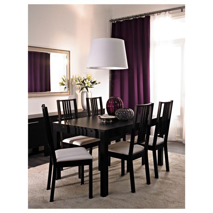 BJURSTA Τραπέζι και 4 καρέκλες - IKEA