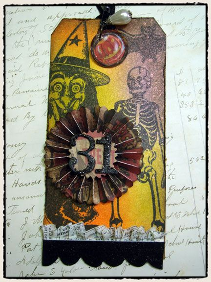 Vintage fright - http://timholtz.typepad.com/my_weblog/2010/09/vintage-fright.htmlAngels Design, Halloween Cards, Holtz Halloween, Google Search, Altered Tags, Halloween Tags, Cards Tags, Tim Holtz, Design Blog