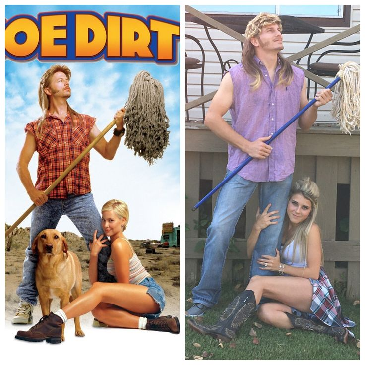 Joe Dirt and Brandy couples costumes