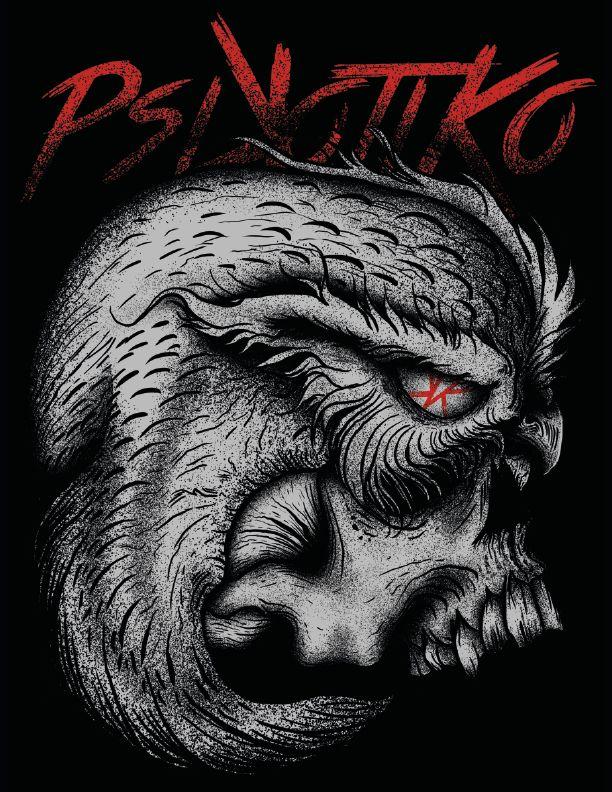 #Psikotiko, Skull, Buho, dia2