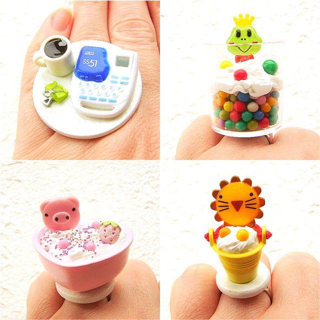 Kawaii Japanese Miniature  Food Jewelry