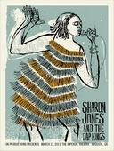 Sharon Jones concert poster by Methane Studios