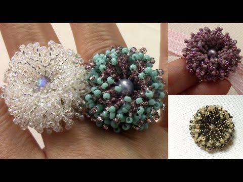 Bisuteria paso a paso Beaded Crochet Joyeria hecha a mano Tejida con Gancho - YouTube