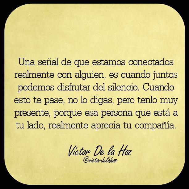 〽️ Apreciamos nuestra compañía. Victor De la Hoz...