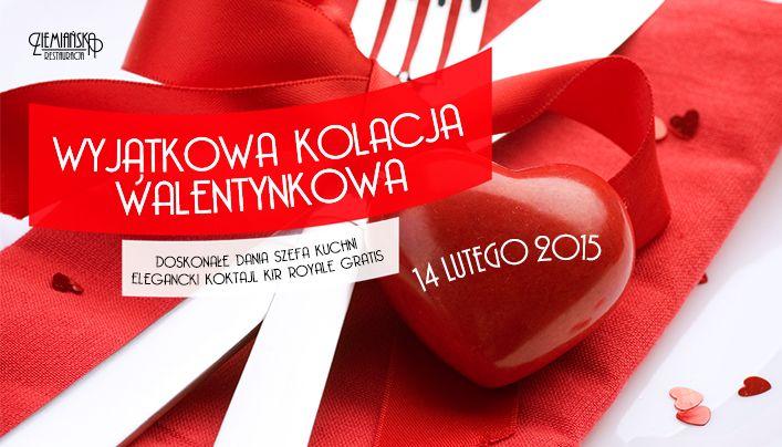 Zapraszamy na romantyczną kolację walentynkową w Ziemiańskiej:) Szczegóły i rezerwacje www.ziemianska.pl