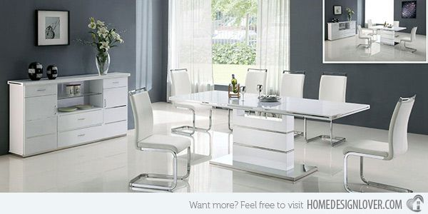Refreshingly Neat 15 White Dining Sets | White Dining Set And Dining Sets
