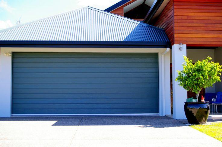 Slimline-Sectional Panel Lift Garage Door Prices - Steel-Line Garage Doors