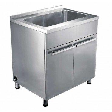 Utility Sink. Stainless Steel CabinetsBase ...
