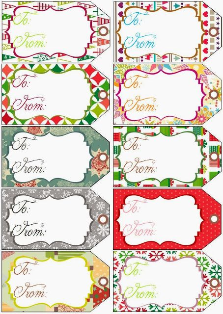 348 best christmas printables 2 images on pinterest christmas artsy fartsy annie freebie friday free printable gift tags negle Gallery
