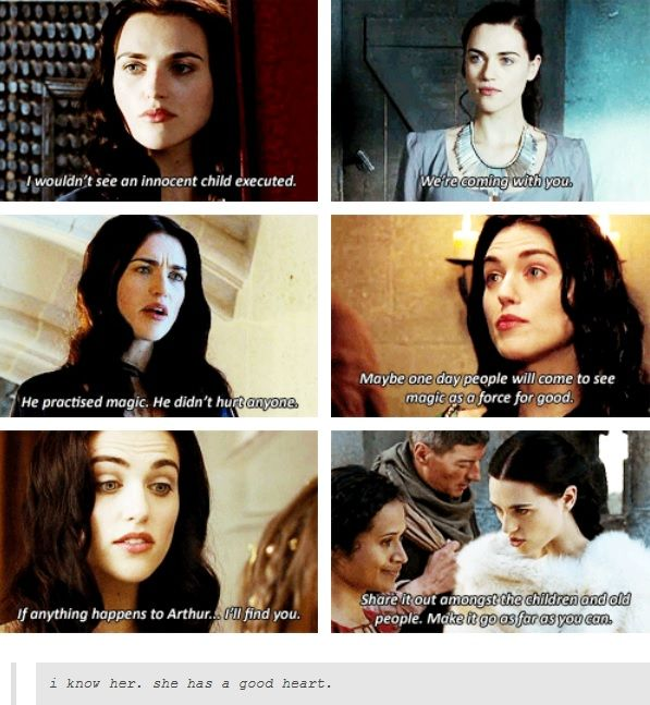 When Morgana was still Morgana... It makes me sad that she turned into such an evil person! She had been so kind! :'(