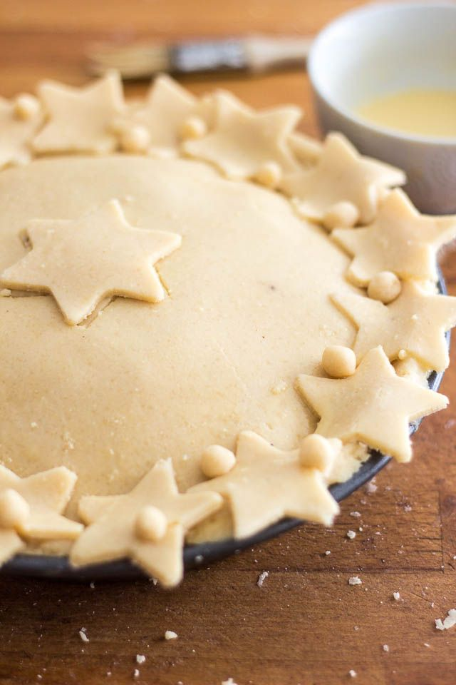 While this Paleo Pie Crust isn't the easiest to work with, it's so flaky, crispy and melt-in-your-mouth good that you won't mind having your patience tested!