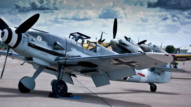 World War II Luftwaffe Me-109
