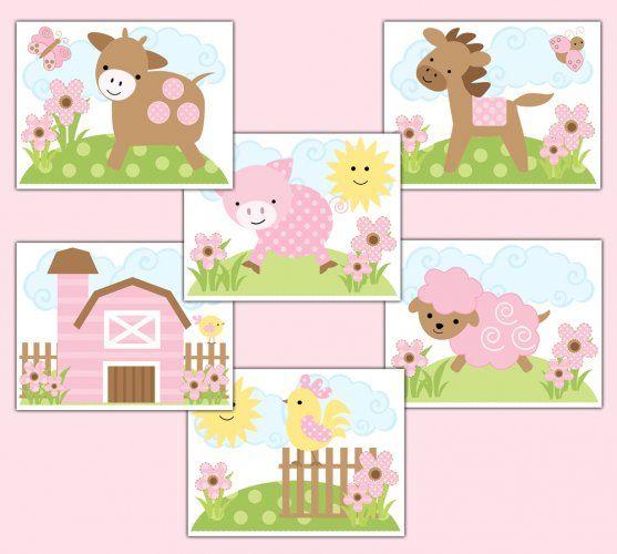 Baby Room, Purple Curtains And Storybook Nursery