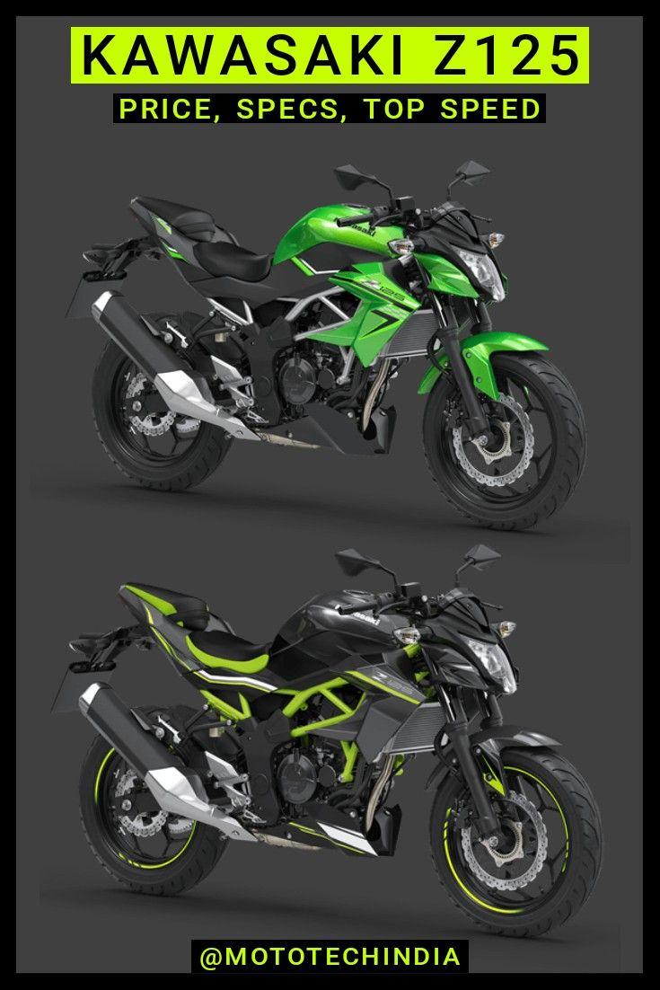 Kawasaki Z125 Price Top Speed Specs In 2020 Kawasaki Street Fighter Motorcycle Kawasaki Z1000
