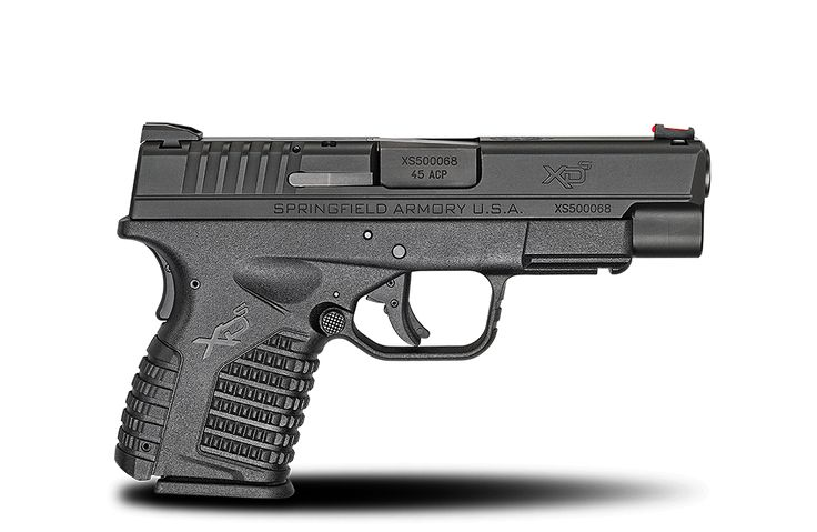 "XD-S® 4.0"" Single Stack .45ACP caliber #pistol in Black from Springfield Armory® #firearm #handgun"