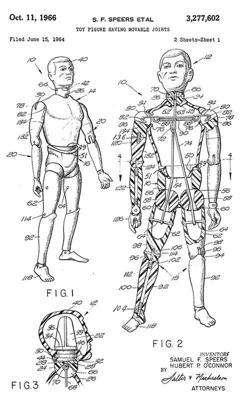 Anatomy of a G.I. Joe #actionfigures #toys #vintage