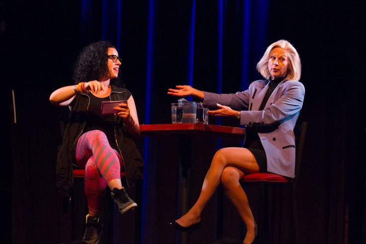 Christie Hefner and Jill Salzman | The Founding Moms Conference 2014