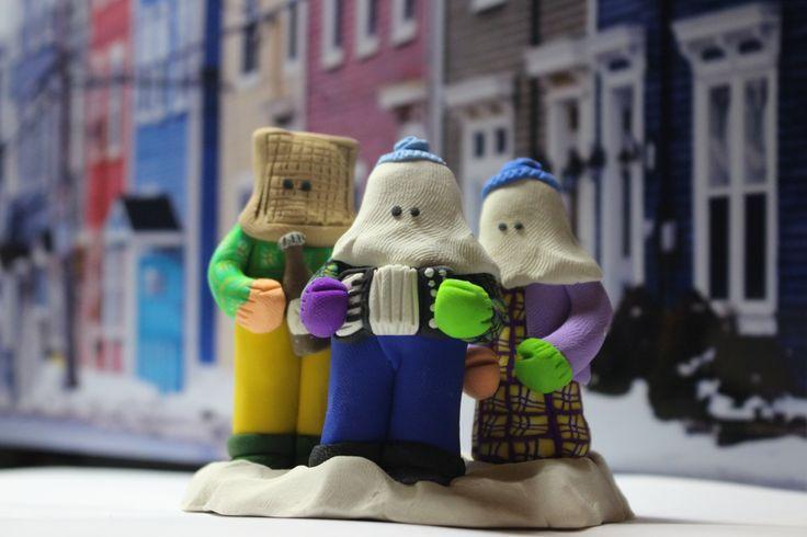Newfoundland Mummers !!!! www.dawnscreations.ca