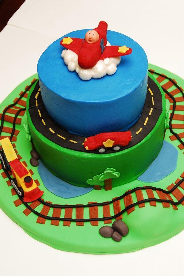 Planes Trains Automobile Birthday Cakes Photoset 114 892