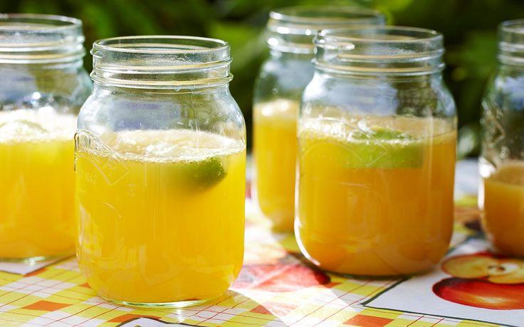 Tropisk bål med lime