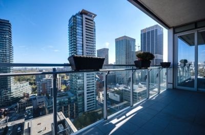 Yorkville Toronto Four Seasons Condos For Sale 55 Scollard St Suite 1702 Balcony Victoria Boscariol Chestnut Park Real Estate
