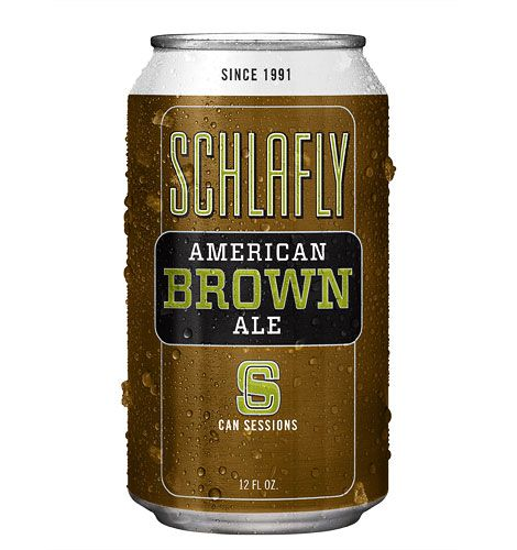 Schlafly American Brown Session Can