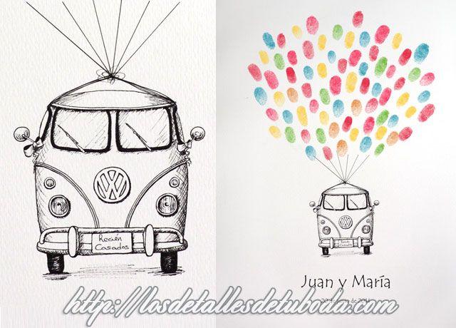 Blog de los detalles de tu boda | Libros de firmas originales con huellas | http://losdetallesdetuboda.com/blog