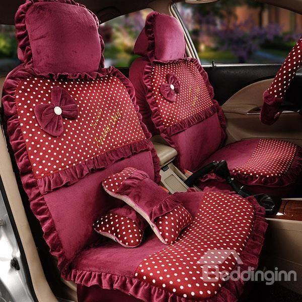 Girly Car Seat Covers Cute Funky