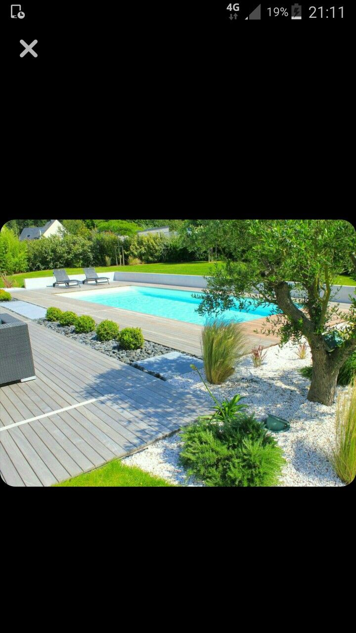 Massif piscine