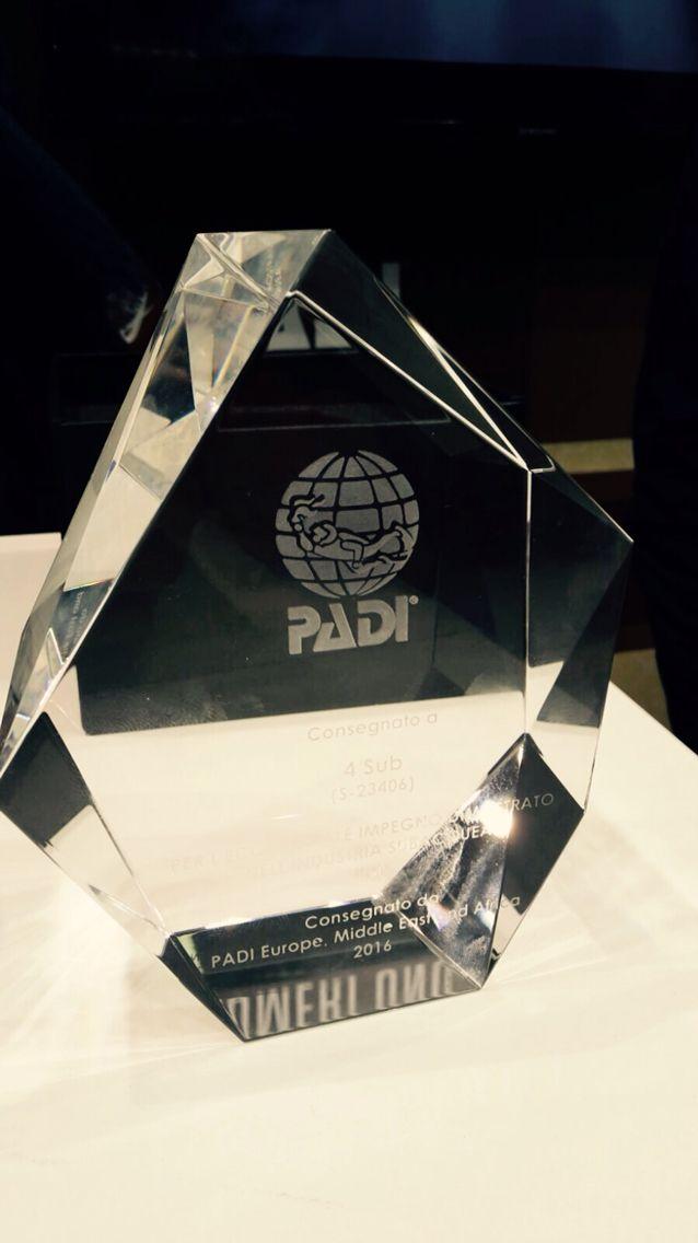 PADI Award