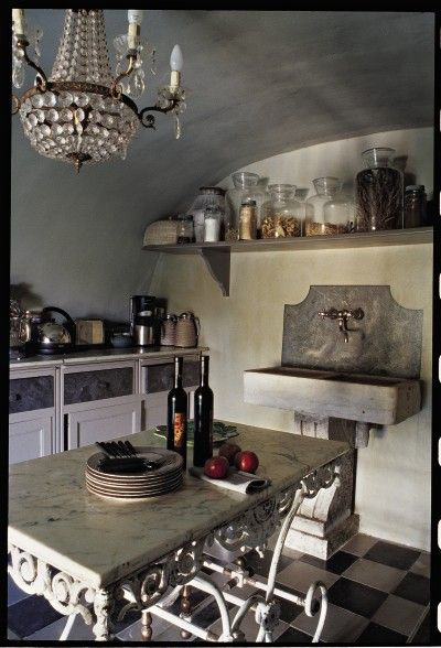 25 Best French Style Kitchens Ideas On Pinterest French Country Kitchens Dream Kitchens And French Country Kitchen With Island