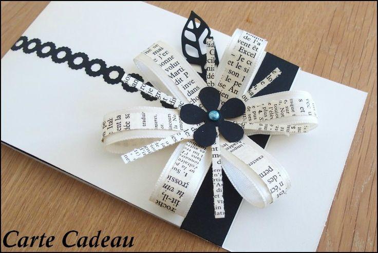 J-7 : Avent des �toiles : une carte cadeau avec une jolie fleur !